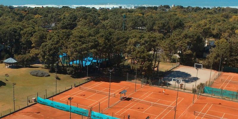 Vista Aerea del Tennis Pinamar