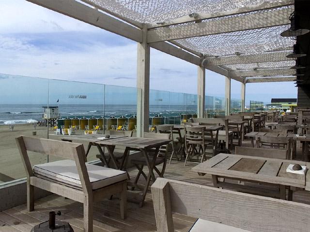 Restaurante Exterior con vista al mar